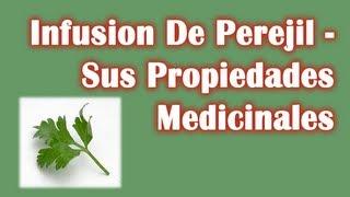 Infusion Del Perejil - Sus Propiedades Medicinales