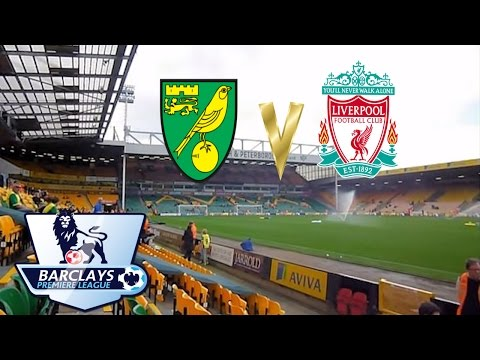 Barclays FA Premier League Norwich City 2-3 Liverpool 20 April 2014