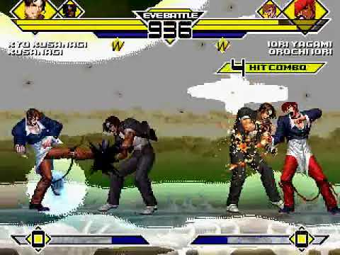 Kyo & Kusanagi vs. Iori & Orochi Iori
