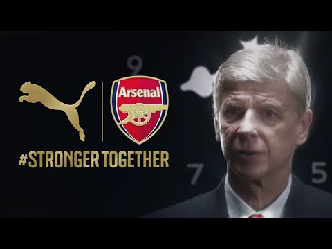 http://go.puma.com/pumafcarsenal PUMA reveals the 2014/15 Arsenal Kit Trilogy with Gunners' Manager Arsène Wenger telling the Future, Forever, Victorious sto...