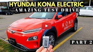 New Hyundai Kona EV Electric Test Drive I Review 2018