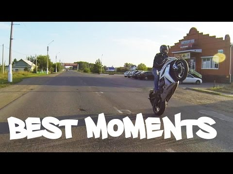 honda cbr600rr best moments wheelies