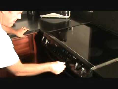 How To Repair An Oven Resetting The Power Youtube