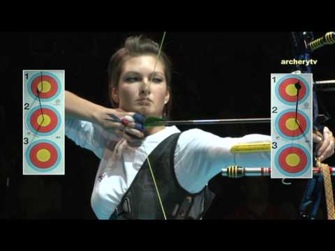 13th European Tournament of archery 2010 - Ind. Match #6 Video