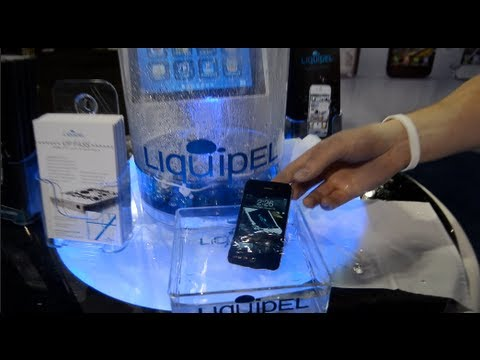 Waterproof Your iPhone (NO CASE): Liquipel CES 2012