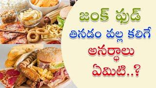 Effects of Junk food | Nadipathy | Dr.Krishnam Raju | జంక్ ఫుడ్ తినడం వల్ల కలిగే అనర్ధాలు