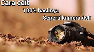 Download lagu Cara Edit Foto Menjadi Blur Seperti Hasil Kamera Dsrl gratis