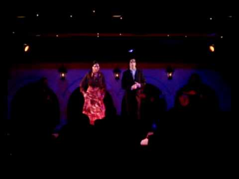 LUNA FABIOLA Y SERGIO GONZALEZ -TARANTOS- (El Flamenco Tokyo)