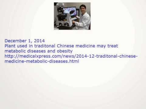 Plant used in traditonal Chinese medicine may treat  metabolic diseases and obesity