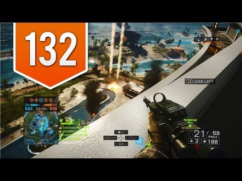 BATTLEFIELD 4 (PS4) - Road to Colonel - Live Multiplayer Gameplay #132 - STINGER FAILS