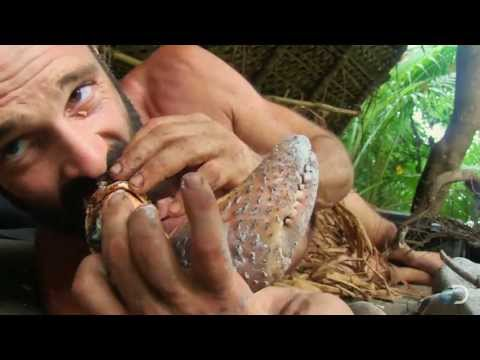 Giant Coconut Crab Feast | Naked Castaway
