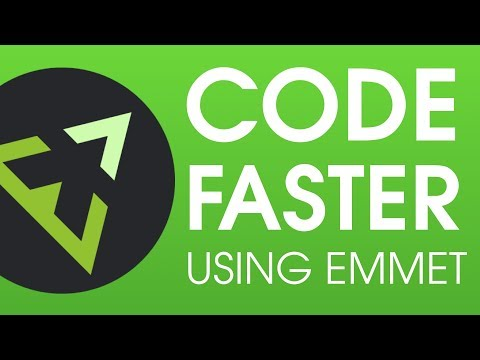 How To Code Fast Using Emmet