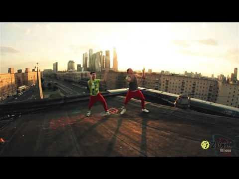 Зумба фитнес - видео уроки - Москва для начинающих ZUMBA fitness dance