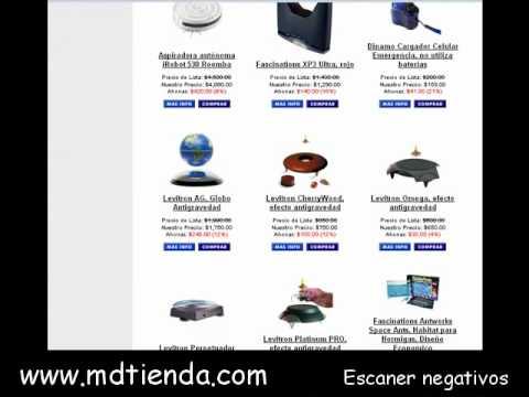 Levitacion Magnetica - Escaner Negativos - Comprar Gadgets