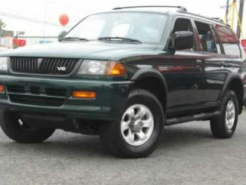1999 MITSUBISHI MONTERO SPORT Jersey City, NJ - YouTube