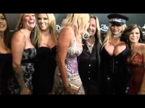 2012 grand opening of rock icon vince neil's girlsgirlsgirls club vegas