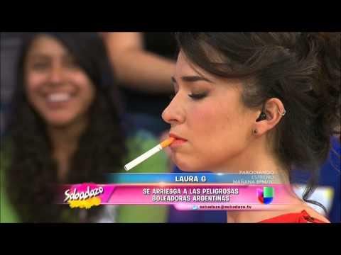 Sabadazo - Laura G se desnuda