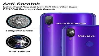 Как легко и идеально наклеить защитное стекло на камеру Redmi Note 7  Redmi 7. КЛЕИТЬ НАДО И ТОЧКА!