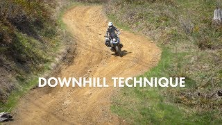 Downhill Riding the Right Way - Body and Brain - Learn the Techniques