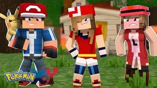 Minecraft: Pokemon X Y - A MELHOR AMIGA DO ASH #20