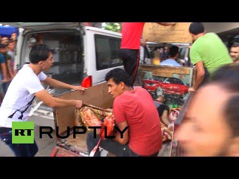 Israel bombardea un mercado en Gaza pese al alto el fuego declarado