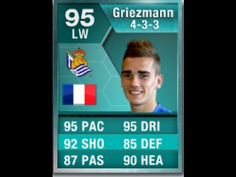 FIFA 13 SPECIAL CARD 95 GRIEZMANN Player Review & In Game Stats Ultimate Team