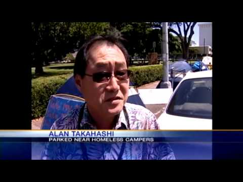 Drivers, pedestrians split on Occupy Honolulu's move