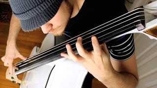 Cliff Burton - Anesthesia (Upright Bass cover)