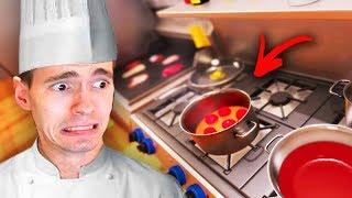 LIPÃO NA COZINHA - DESASTRE NA COZINHA!!! - (Cooking Simulator)