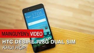 Khui hộp HTC Desire 728G Dual SIM - www.mainguyen.vn