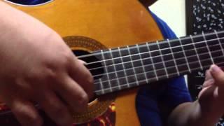 Thành phố buồn - Mèo Ú solo guitar