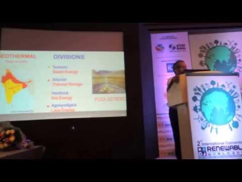 Geothermal Energy  (AGNEYOGARA- LAVA ENERGY)-Indian Scenario-Dr Ritesh Arya,ICRW 2014 Delhi