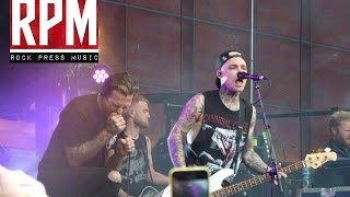 The Amity Affliction - I Bring The Weather With Me LIVE at Slam Dunk Festival