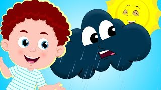 Rain Rain Go Away - Nursery Rhymes & Children Songs | Schoolies Cartoons for Kids