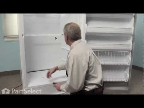 Refrigerator Repair- Replacing the Freezer Thermostat (Frigidaire Part #297216600)