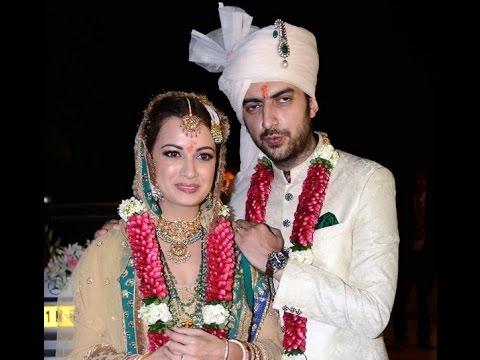 Dia Mirza And Sahil Sangha Tie The Knot - Bollywood News