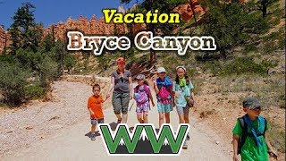 4 Day Family Camping Trip: Kodachrome Basin, GSENM, Bryce Canyon