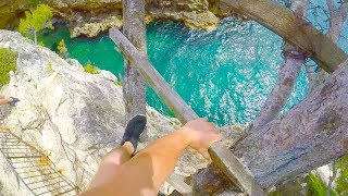 CLIFF JUMPING CROATIA *INSANE SPOTS*