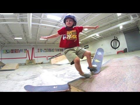 Father Son Skate Dedication! / Slam Again And Again!