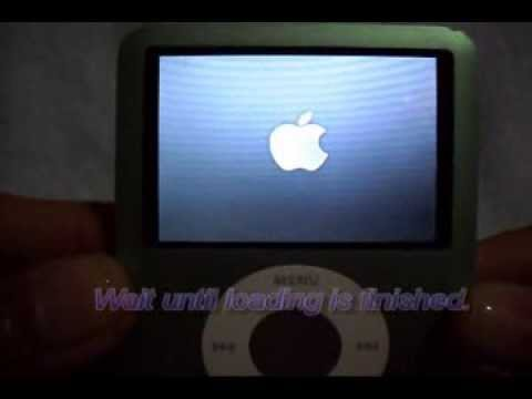 How To Reset An Apple iPod Nano (3rd Gen)