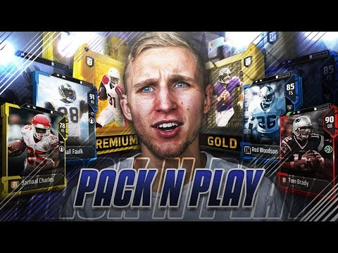 PACK N PLAY! Madden 18 Ultimate Team