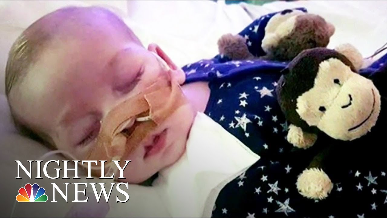 Charlie Gard: Terminally Sick Baby At Center Of Complex Ethics Case | NBC Nightly News