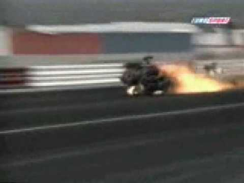 Top 10 crashs NHRA dragster