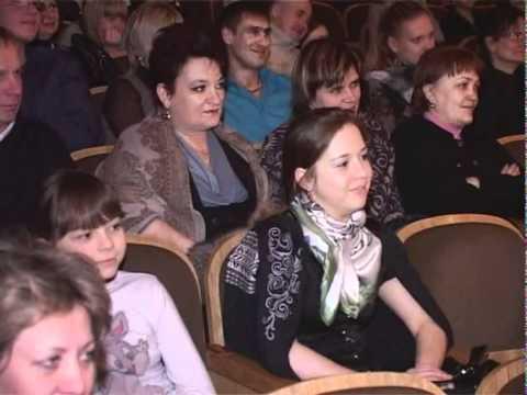 Актер Александр Головин в Ленинске-Кузнецком
