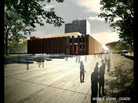 Wizualizacja Nowej Siedziby NOSPR W Katowicach