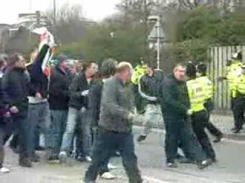 Football Hooligans Southampton Amp Portsmouth 13 2 10 Youtube
