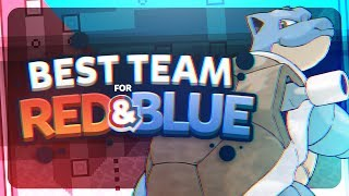 Best Team for Kanto (Red and Blue) Ft. MandJTVPokevids
