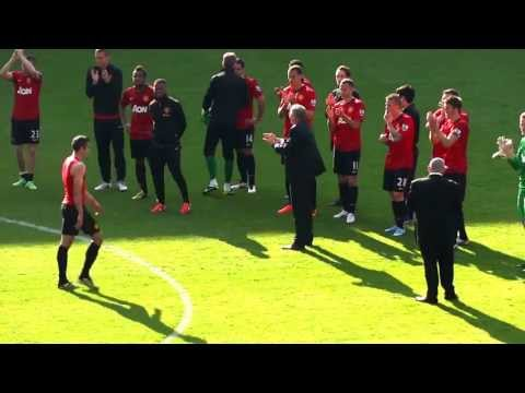 Sir Alex Ferguson's farewell to Manchester United fans