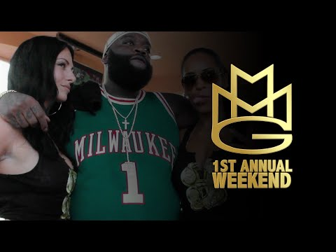 #rdfilms Presents Rick Ross 1st Annual #mmgweekend (mmg Pool Party) video