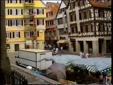 (Part 13 of 13) Summer 1996 Germany Trip - Tübingen, Germany